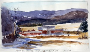 """Farm on Coulter Road, Shaftsbury, VT"""