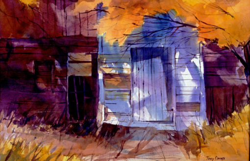 KEYLESS ENTRY - limited edition giclee' print from original watercolor painting by Tony Conner