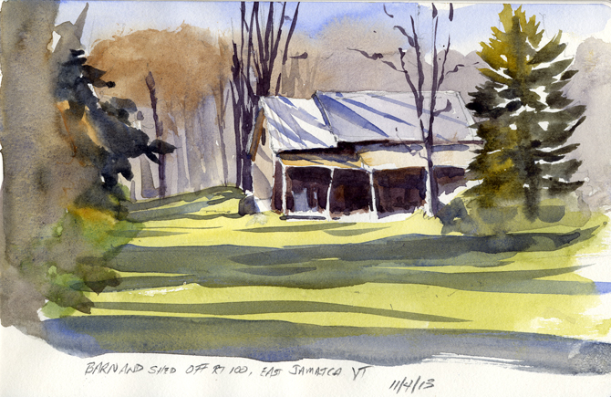 Sketch of the Day – November 4, 2013
