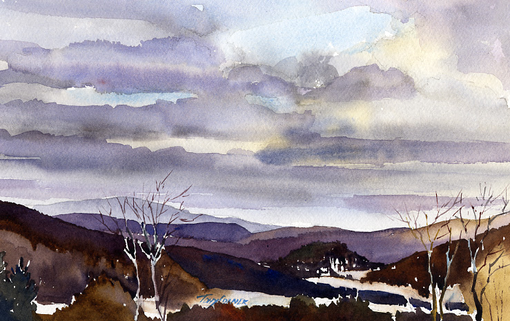 """Changing Sky, Pownal Valley"""