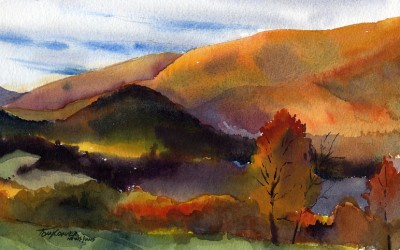 """Valley of Color"" – Plein Air Landscape Painting"