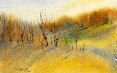 """October Dream"" – Gentle Autumn Late Day Light"
