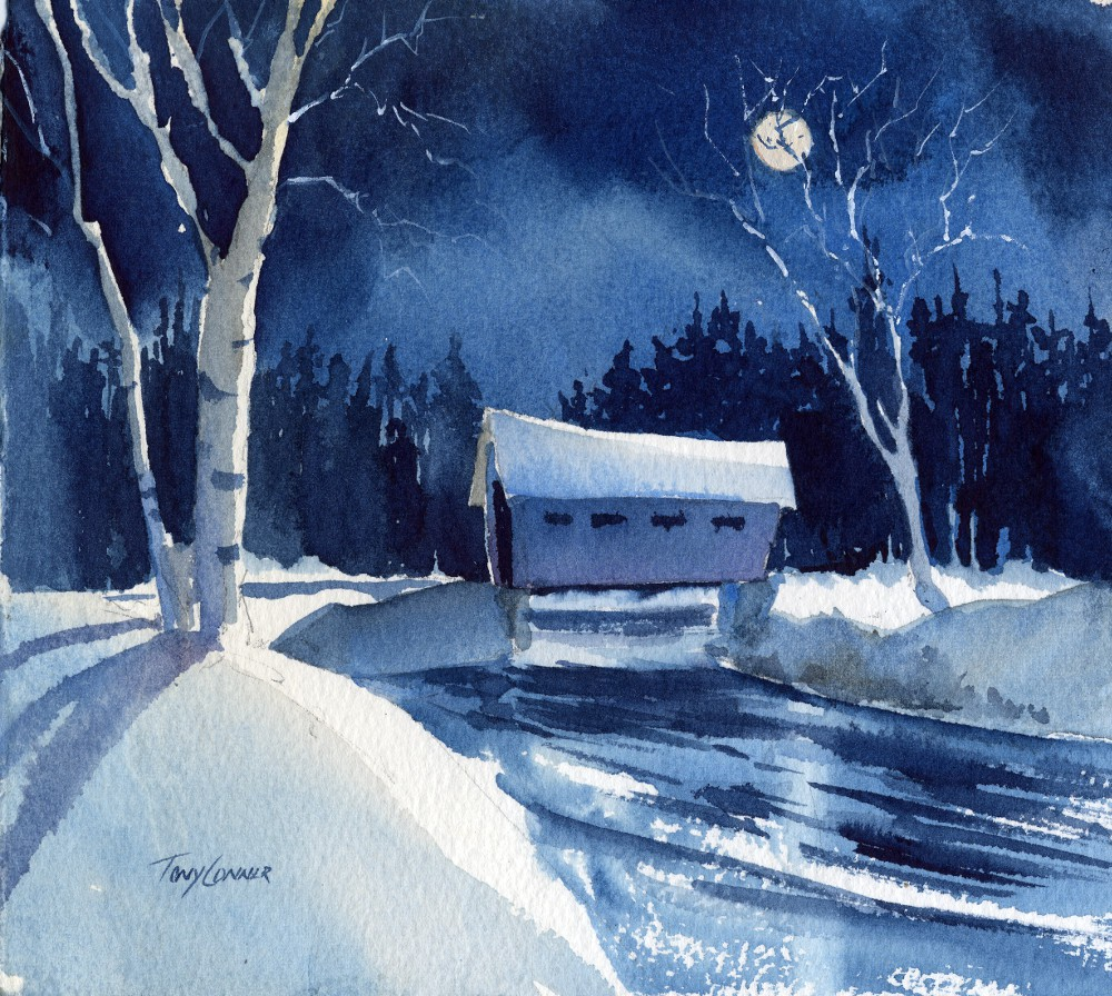 Winter holiday greeting cards mixed pack vermont watercolor winter holiday greeting cards mixed pack vermont watercolor artist tony conner m4hsunfo