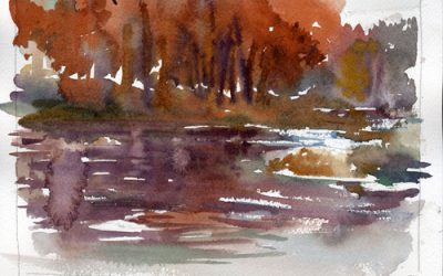 Watercolor Studio – weekly studio instruction in watercolor