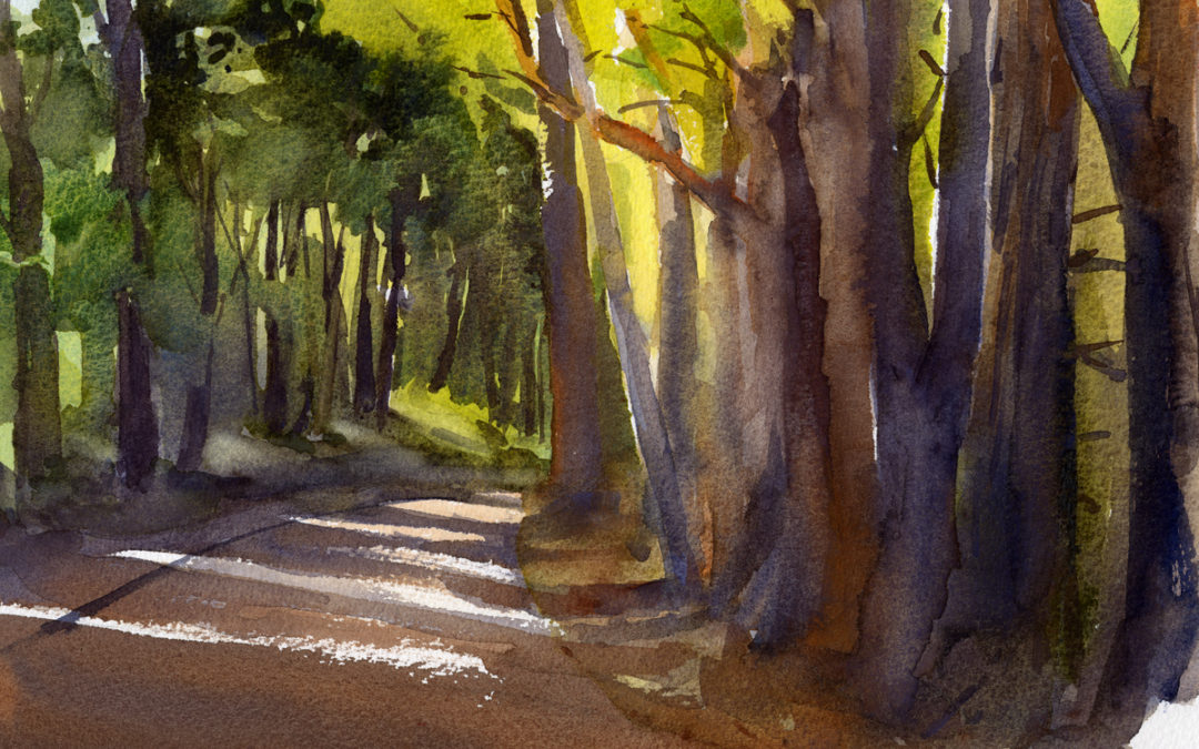 Monday En Plein Air Watercolor Painting Class